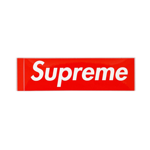 SUPREME BOX LOGO STICKER - Sz O/S
