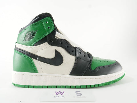 "AIR JORDAN 1 RETRO HIGH OG ""PINE GREEN"" - Sz 10.5"