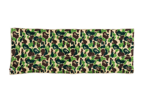 "BAPE TOWEL ""ABC GREEN CAMO"" - Sz O/S"