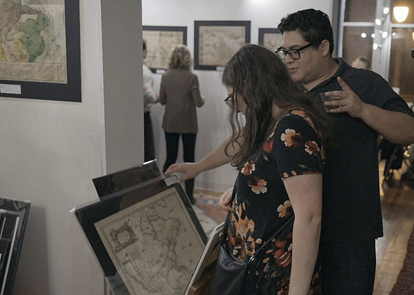 Deciding on what antique map to buy