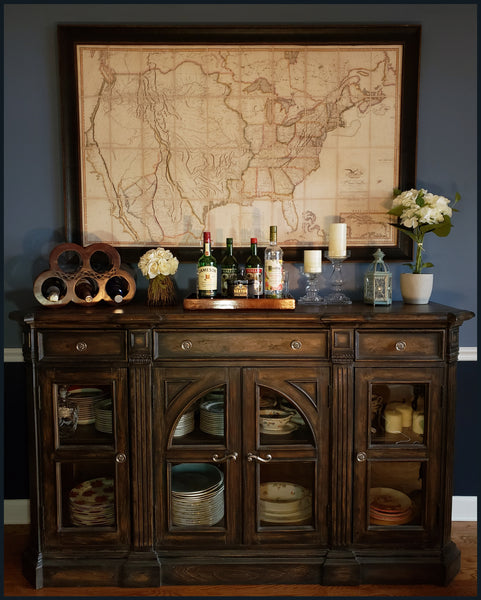 Framing and Antique Map