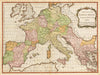 Antique Map Imperium Caroli Magni Occidentis Imperatoris...By: John Blair Date: 1779