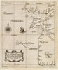 Antique Nautical Map of Portugal by Sir Robert Dudley, 1646 : Carta particolare del Oceano che comincia con il capo S. Vincentio...