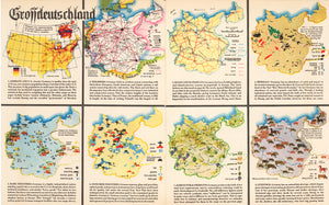 Grossdeutschland - WWII Map of Germany by: Harrison, 1939