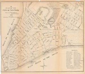 1776 / 1897 A Plan of the City of New-York