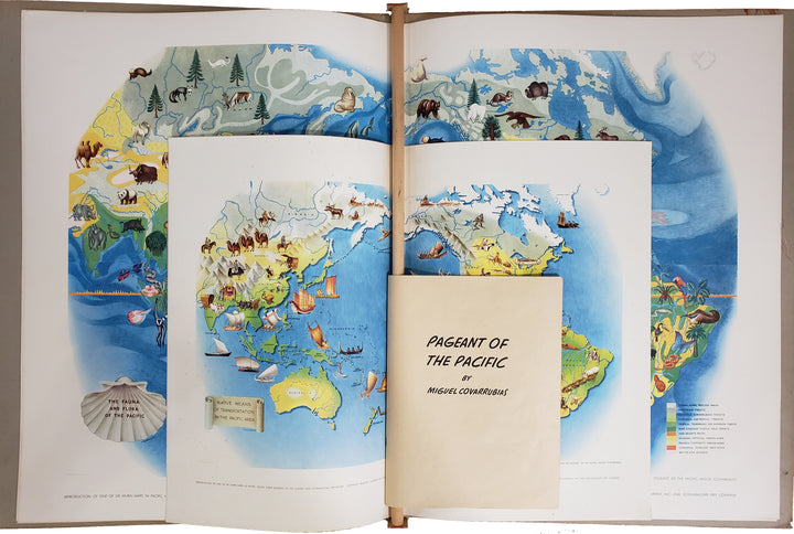 Pageant of the Pacific - Complete Portfolio by: Covarrubias 1940