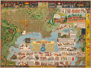 Pictorial Map | Carmel-By-The-Sea By: Joseph Jacinto Mora  Date: 1942