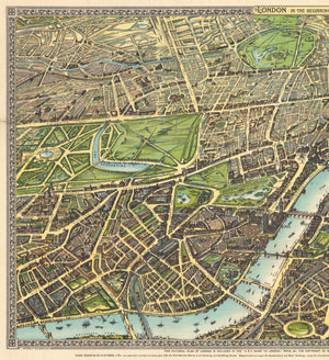 London in the Beginning of the 20th Century by: Chas Baker, 1906
