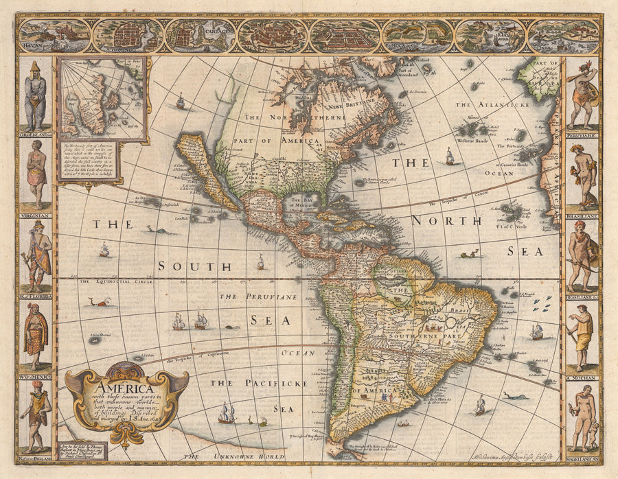 1626 America with those known parts in that unknowne world...