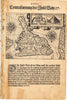 Antique Map of Bali by Theodore de Bry, 1599 : Contrafantung der Insel Baln. XXXIII
