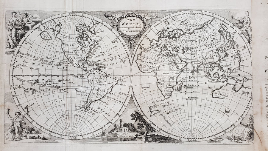 1768 A New Universal Collection of Authentic and Entertaining Voyages and Travels...