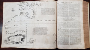 A Complete Map of the Southern Continene by: Tasman - Harris's Voyages 1744 - 48