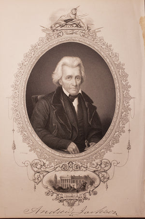 1856 Portrait of Andrew Jackson