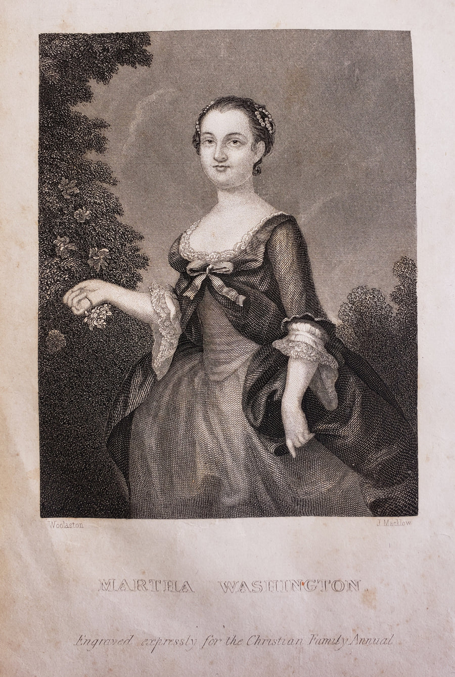 1846 Martha Washington