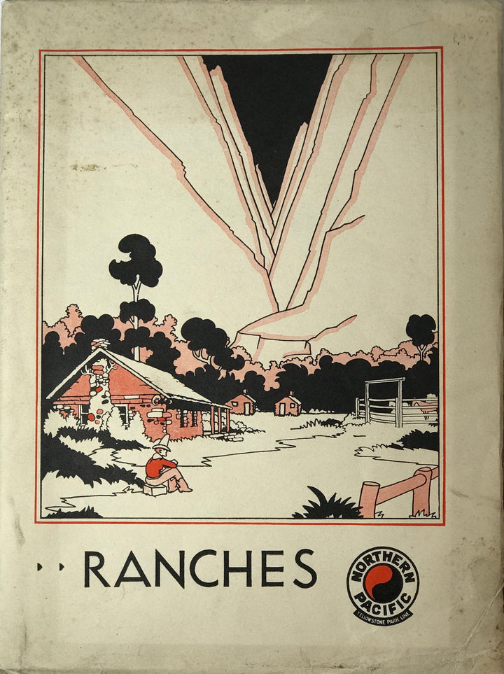 Pictorial booklet of Ranches along California's Highway 1, the Northern Pacific Highway. Includes maps and images.