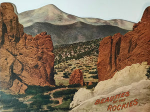 Views and photographs of the Rocky Mountains.