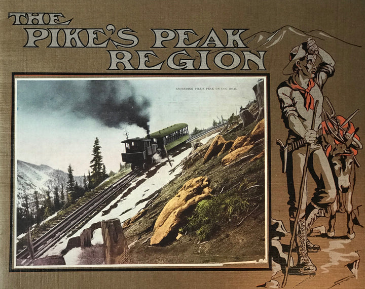 Views and photographs of the Pike's Peak region of Colorado.