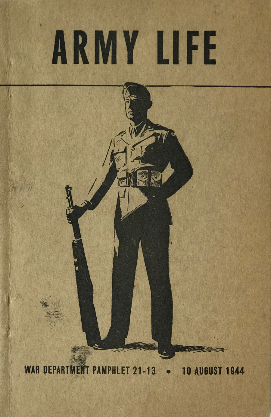 Army Life Booklet, August 1944
