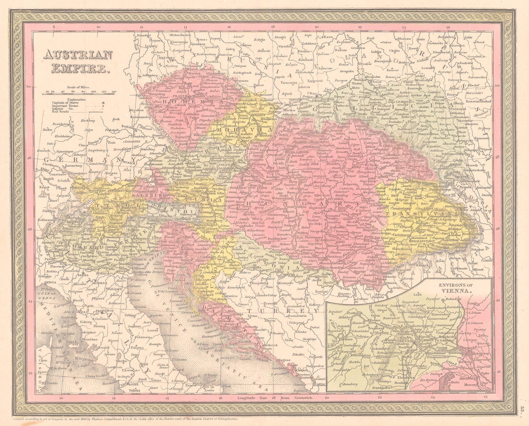 1850 Austrian Empire