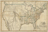 1820 United States of America Corrected & Improved from the best Authorities
