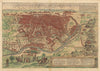 Authentic Antique Map: Cairus Quae Olim Babylon Aegypt Maxima Urbs By: Braun / Hogenberg Date: 1572 (circa)