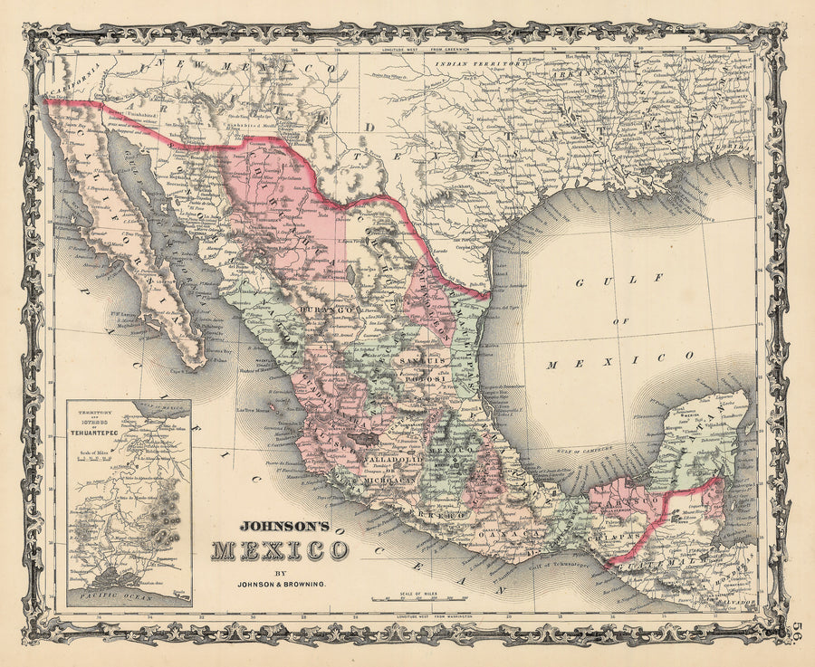 1862 Johnson's Mexico