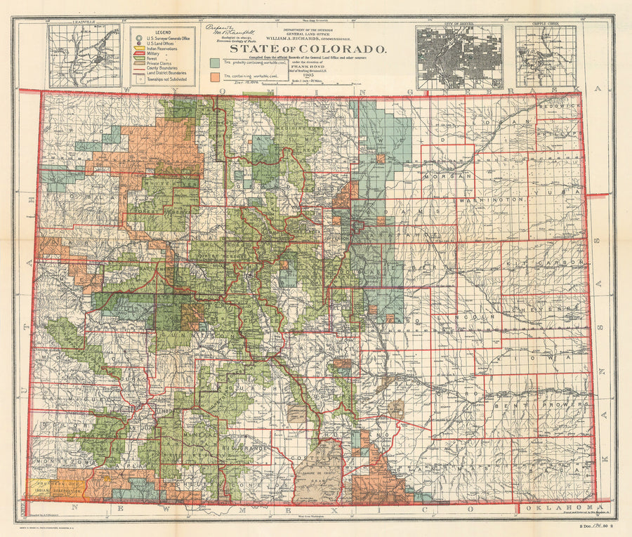 1905 State of Colorado