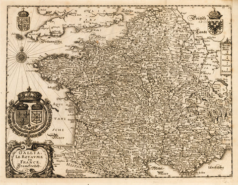 1636 Gallia Le Royaume de France