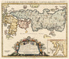 Authentic Antique Map of Japan: L'Empire du Japon, tire des cartes des Japonnois... By: Henri Chatelain Date: 1719 (Published) Amsterdam