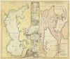Geographica Nova ex Orient Gratiosissima, diabus tabulis specialissimis contenta… Antique Map of the Caspian Sea, northeastern Russia and Kamchatka By: Homann Date: 1730