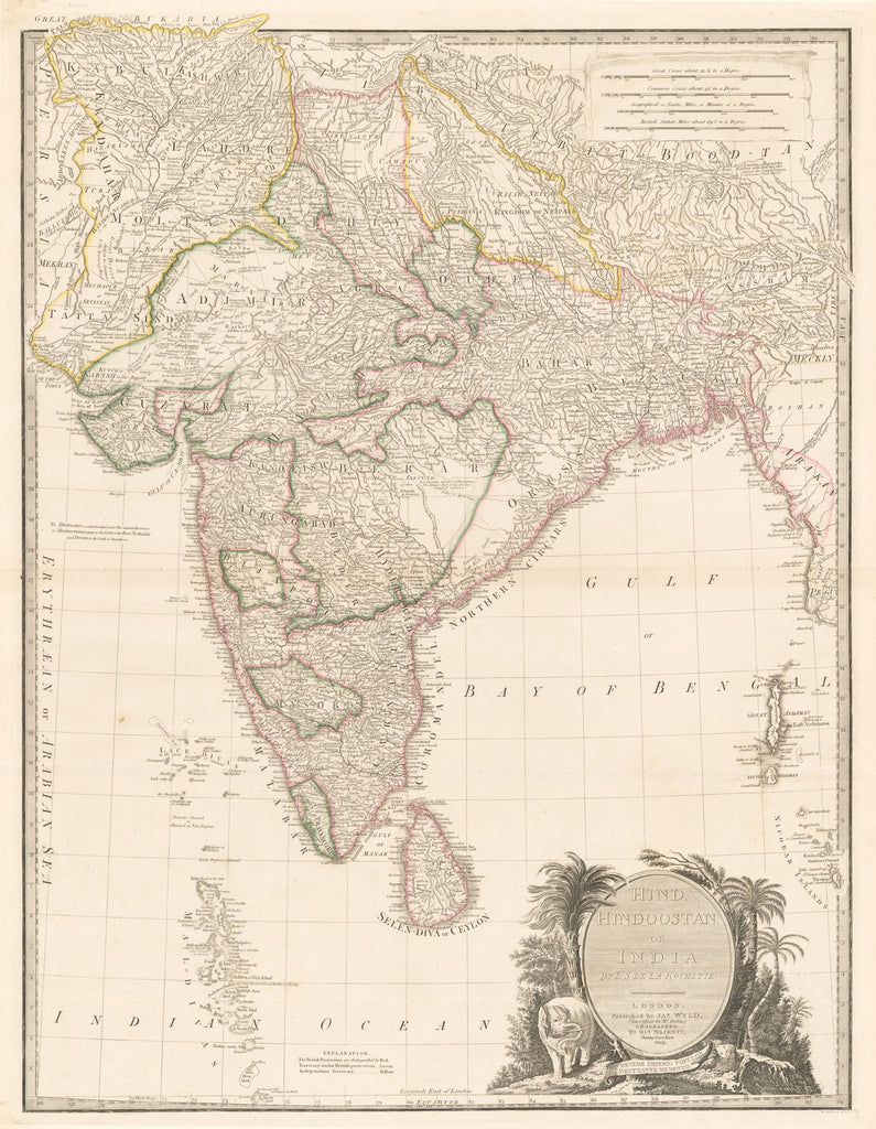 1835 Hind, Hindoostan, or India