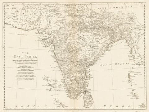 61) The East Indies, including more particularly the British Dominions on the Continent of India