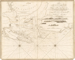 1820 A New and Accurate Chart of Bombay Harbor drawn from the latest authorities for William Heather. A new edition, With considerable Improvements by J. W. Norie, Hydrographer, &c.