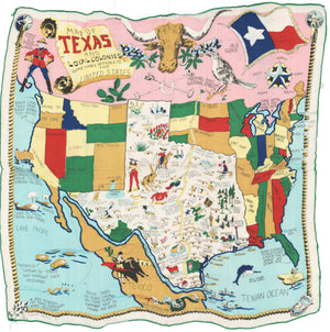 1956 Map of Texas and the Loyal Colonies Sometimes Referred to as the United States