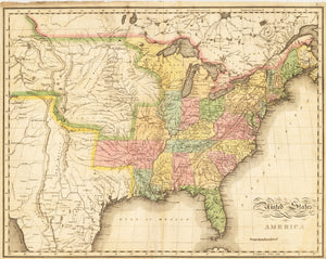 1820 United States of America
