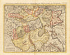 Nouvelle Carte des Etats du Grand Duc de Moscovie ... By: Chatelain Date: 1710 (Published) Paris Size: 14.5 x 18.25 inches - Antique,Vintage, Russia, Chatelain