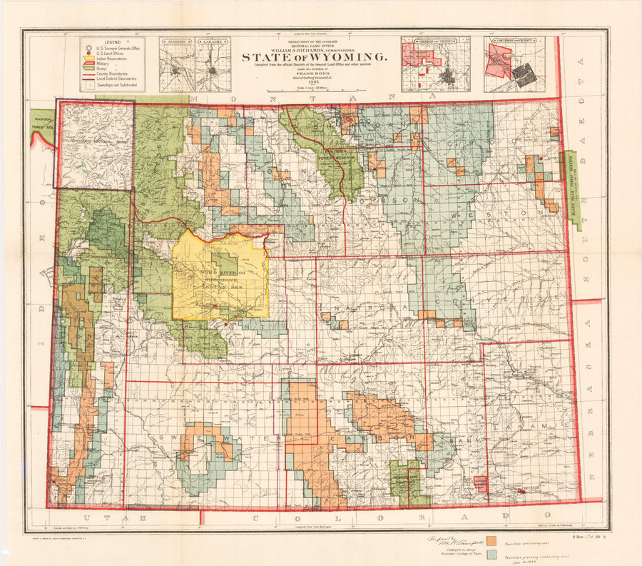1905 State of Wyoming