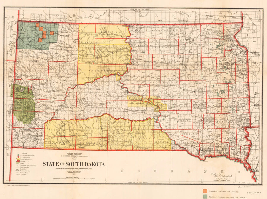 1901 State of South Dakota