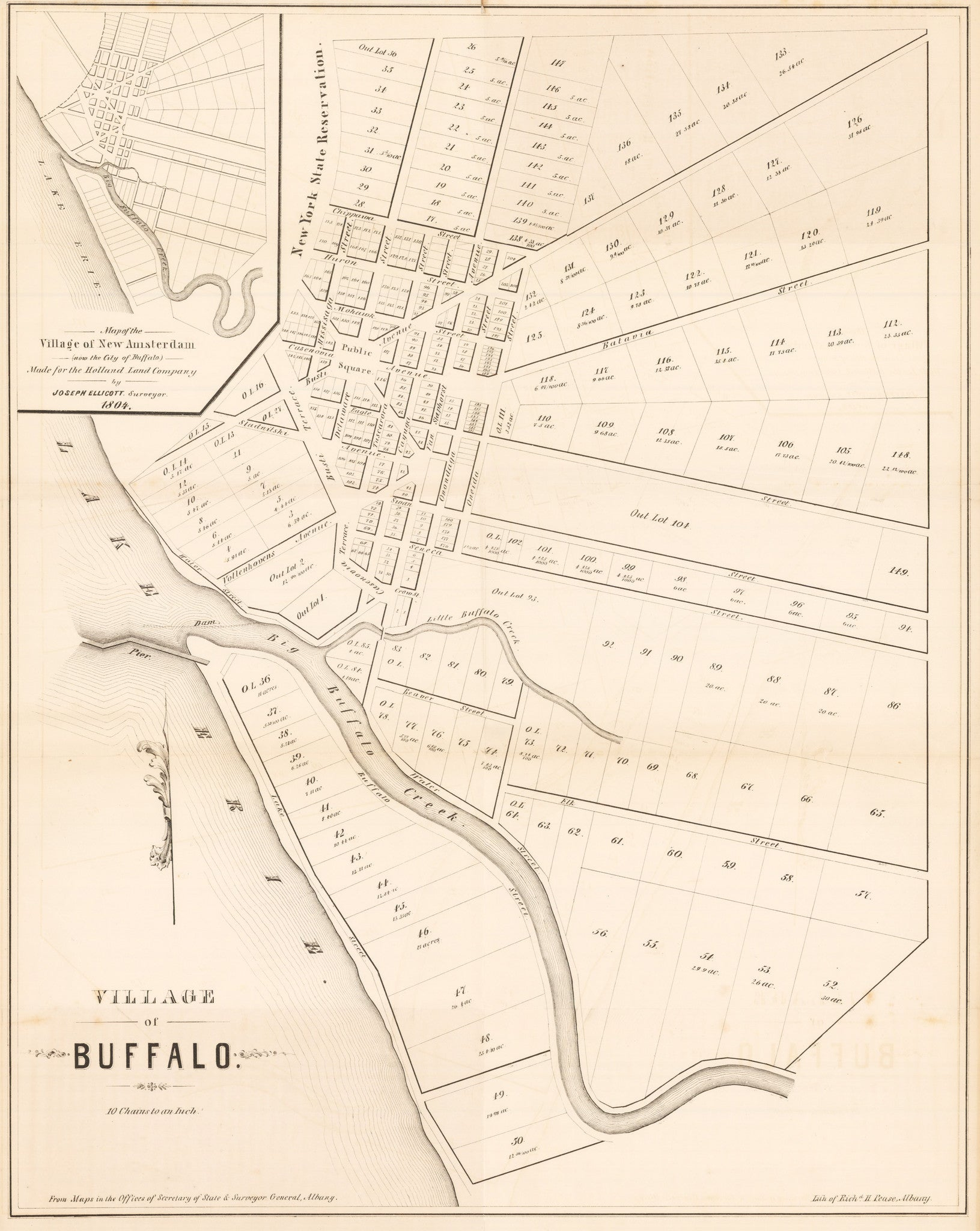 1804 Village of Buffalo on wind point map, the atlanta map, niagara falls map, st francis map, watertown map, rochester map, utica map, yellowstone river map, cincinnati map, toledo map, boston map, new york map, cooperstown ny on a map, fair grove map, indianapolis map, grand island map, college at brockport map, jacksonville map, blooming grove map, town of wheatfield map,