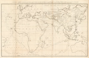 A General Chart on Mercator's Projection, to Shew the Track of the Lion and Hindostan from England to the Gulf of Pekin in China...