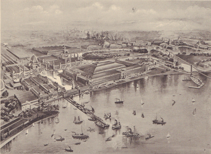 Birds-eye view of Columbian Exposition, 1893