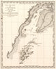 Antique map of the Alaska coast by: George Vancouver 1799 - nwcartographic.com