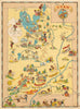 Utah pictorial map by Ruth Taylor 1935 - nwcartographic.com