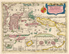 Antique Map of Indonesia: De Molukkische Eilanden Celebes; Gilolo, enz. By: Nicolas Sanson Date: 1683