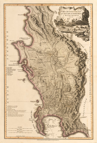 1795 The Dutch Colony of the Cape of Good Hope