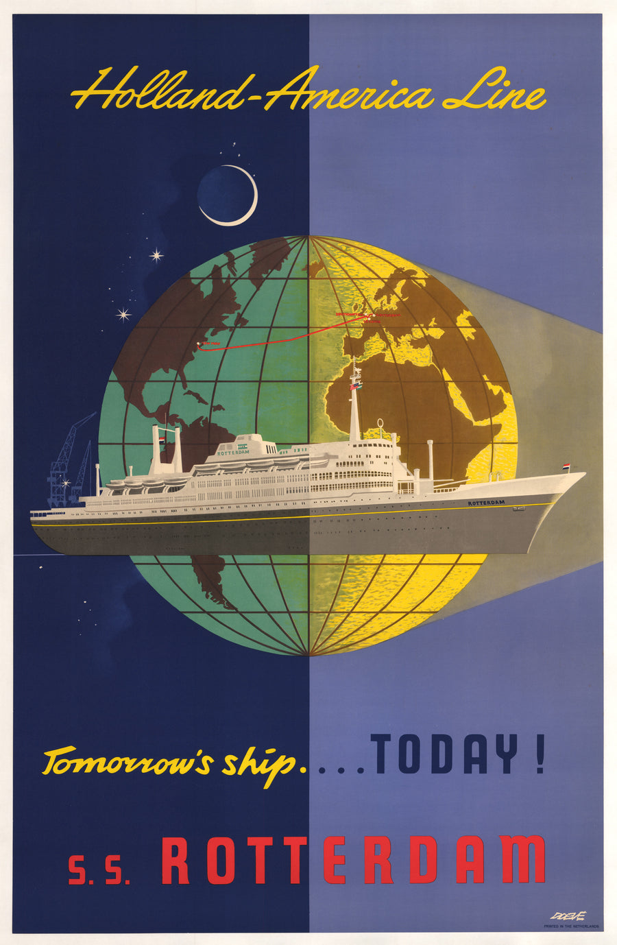 Holland-America Line: Tomorrow's Ship Today