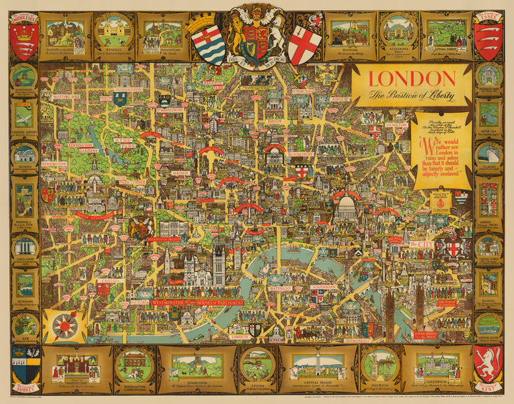 London, The Bastion of Liberty by: Kerry Lee 1946