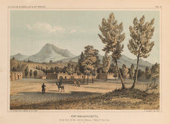 1855 Group of Ten Landscape Prints Detailing the Pacific Railroad Surveys of the 38th and 39th parallels