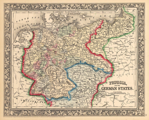 1862 Prussia and the German States