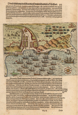 1631 [Drake's attack on Santiago, Cape Verde.]